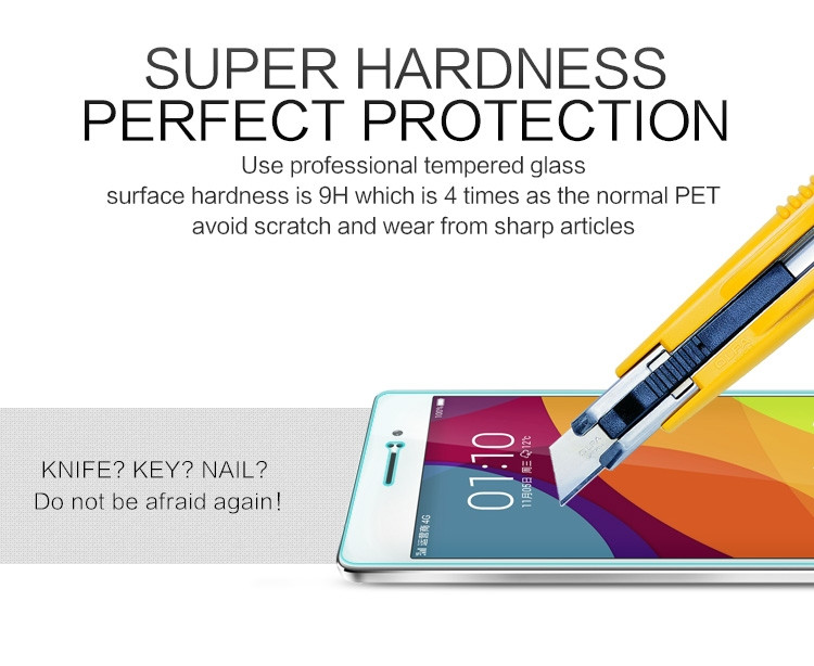 Nillkin glass screen protector for OPPO R5 (R8107) (index H+)