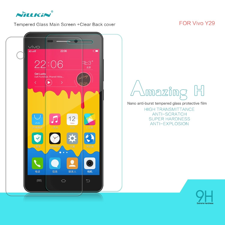 Nillkin glass screen protector for vivo Y29 (index H)