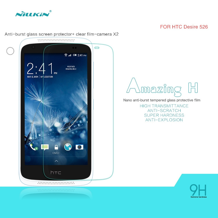 Nillkin glass screen protector for HTC Desire 526 (index H)