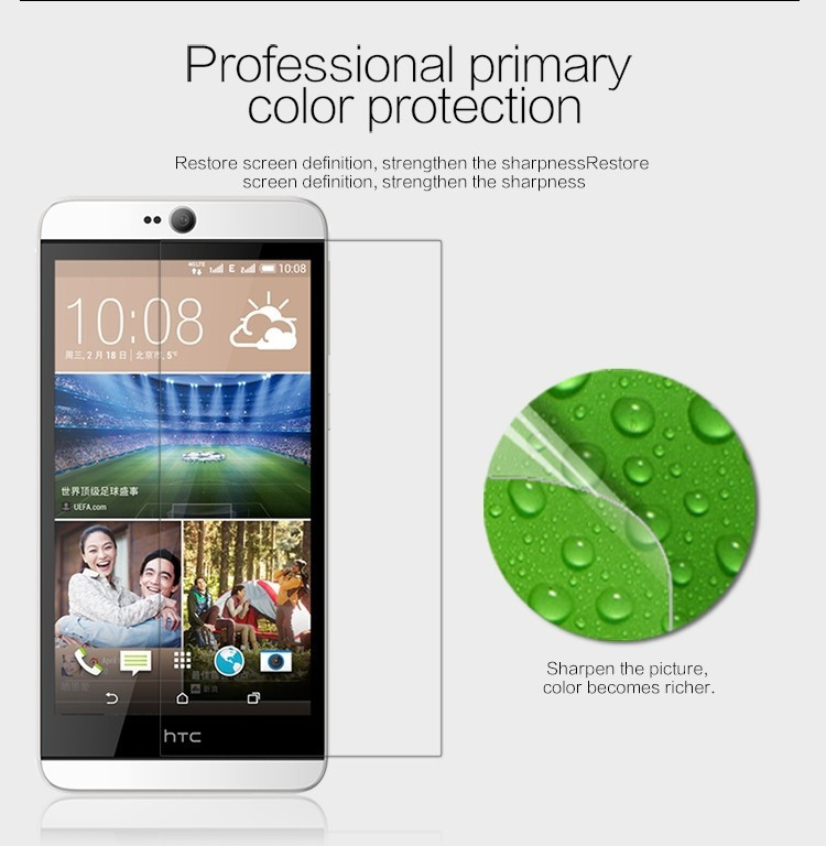 Nillkin anti-fingerprint protective film for HTC Desire 826
