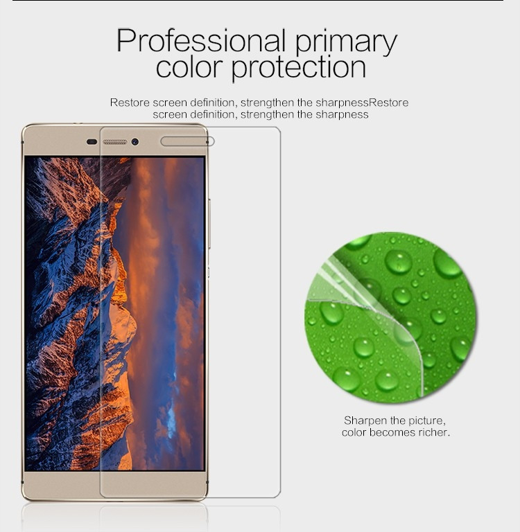 "Nillkin anti-fingerprint protective film for Huawei Ascend P8 (5.2"")"