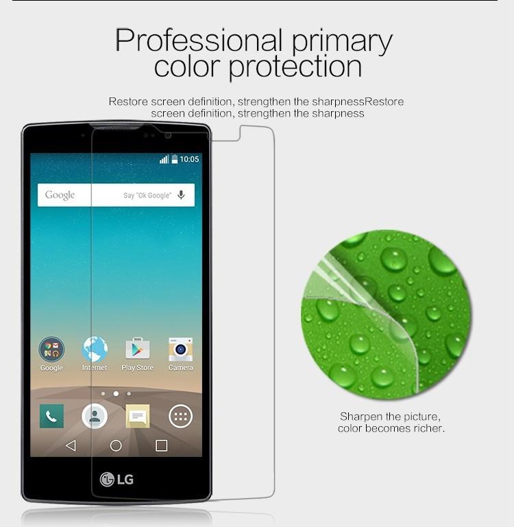 Nillkin anti-fingerprint protective film for LG Spirit H440Y