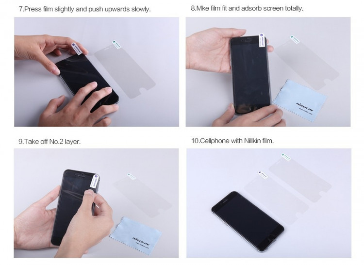 "Nillkin anti-fingerprint protective film for Lenovo S8, A7600 (5.5"")"