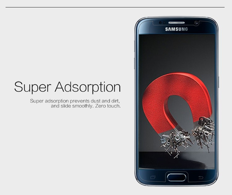 Nillkin anti-fingerprint protective film for Samsung Galaxy S6, G9200 G920F