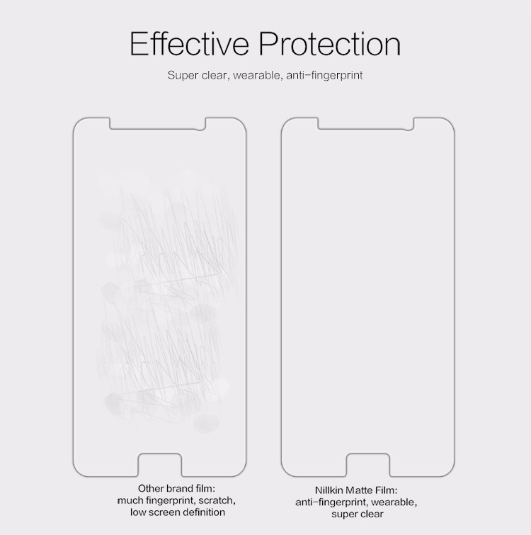 "Nillkin matte screen protector film for Samsung Galaxy Note 5, N920 (5.89"")"