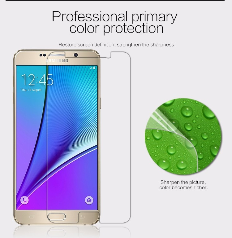 Nillkin matte screen protector film for Samsung Galaxy Note 5, N920, n9200