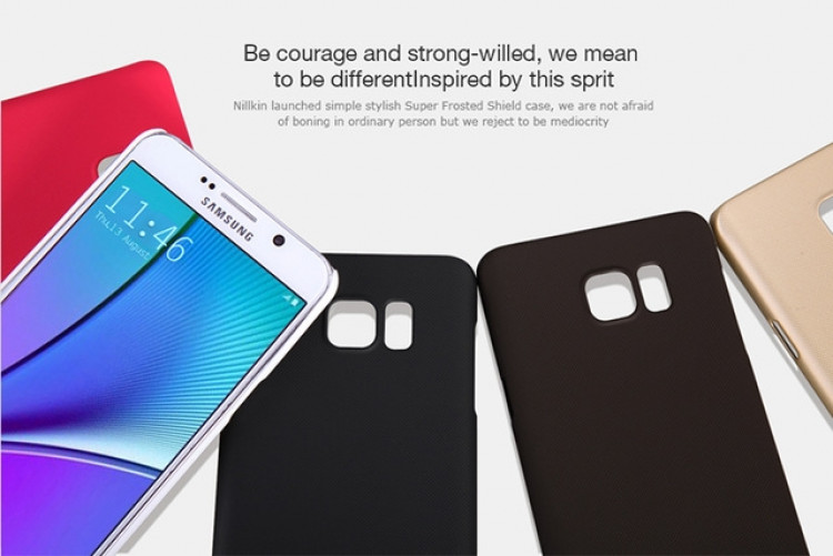 "Nillkin Super Frosted Shield Case for Samsung Galaxy Note 5, N920, N9200 (5.89"")"