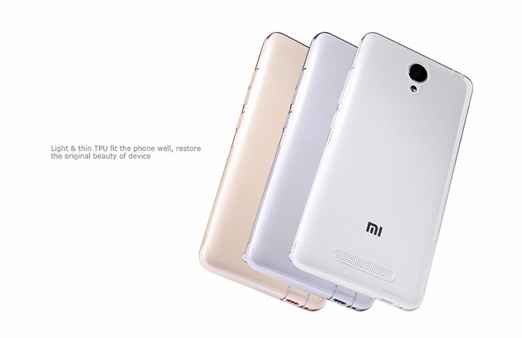 Nillkin Nature TPU case for Xiaomi Hongmi Note 2, Redmi Note 2, Note2
