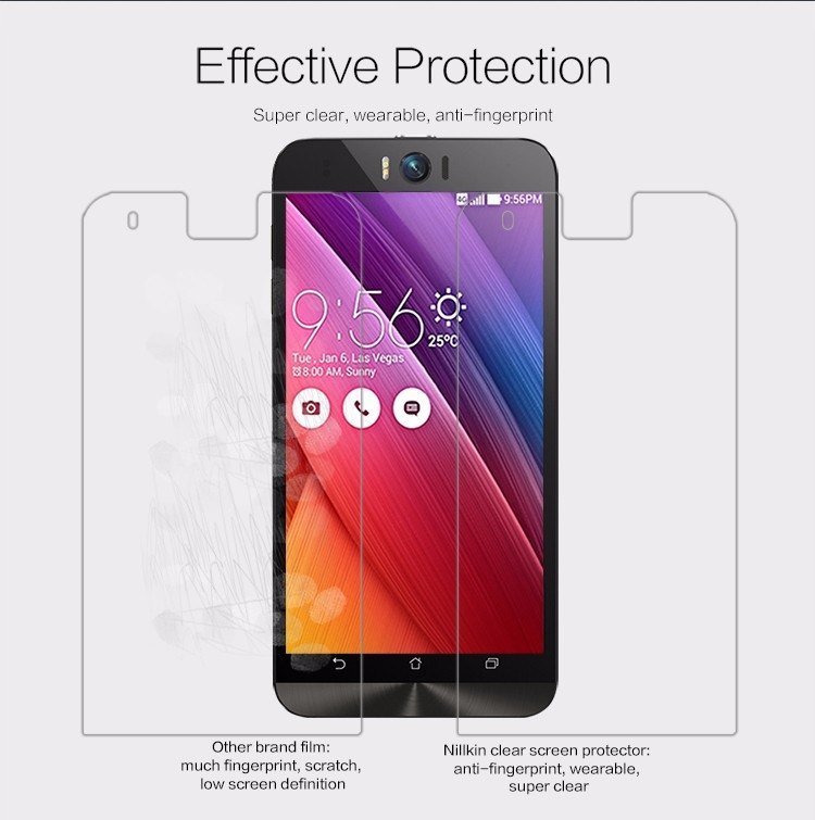 "Nillkin anti-fingerprint protective film for Asus Zenfone Selfie ZD551KL (5.5"")"