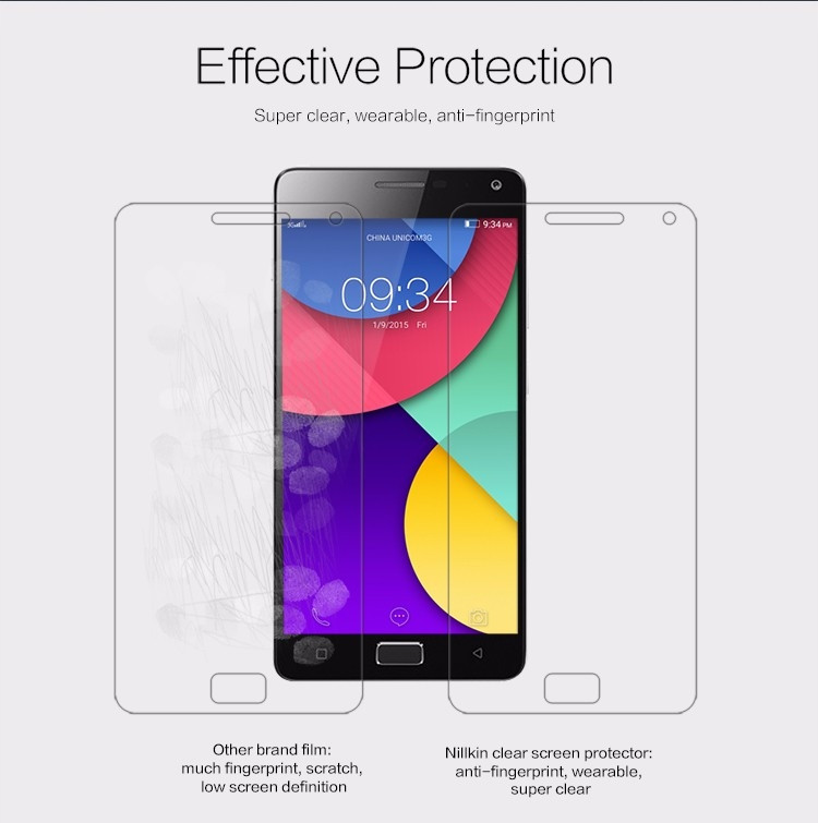 "Nillkin anti-fingerprint protective film for Lenovo VIBE P1 (5.5"")"