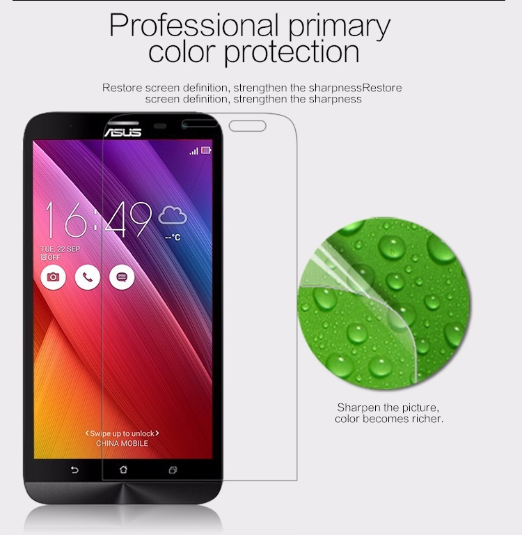 "Nillkin anti-fingerprint protective film for Asus Zenfone 2 Laser, ZE601KL (6.0"")"
