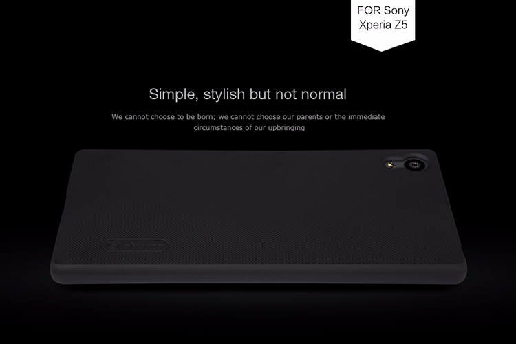"Nillkin super frosted shield case for Sony Xperia Z5, e6603, e6633, e6653, e6683 (5.2"")"