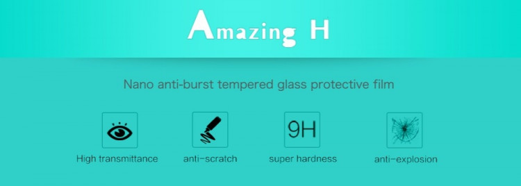 "Nillkin glass screen protector for LG Zero, LG Class, H740 (5.0"") (index H)"