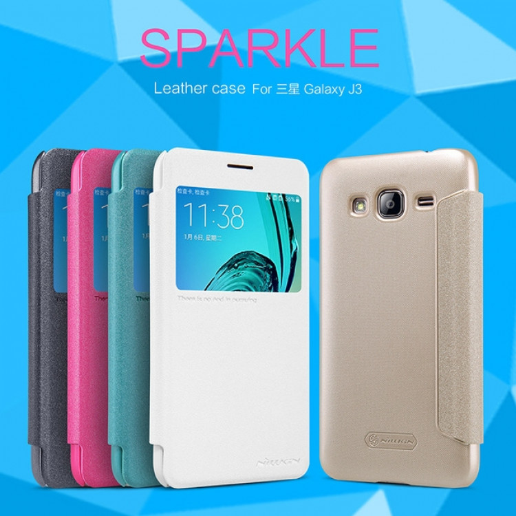 "Nillkin Sparkle case for Samsung Galaxy J3, J3109 (5.0"") (index H)"