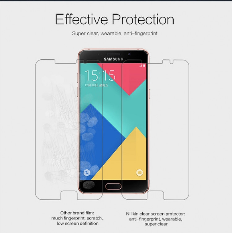 "Nillkin anti-fingerprint protective film for Samsung Galaxy A9, A9000, A900F (6.0"")"