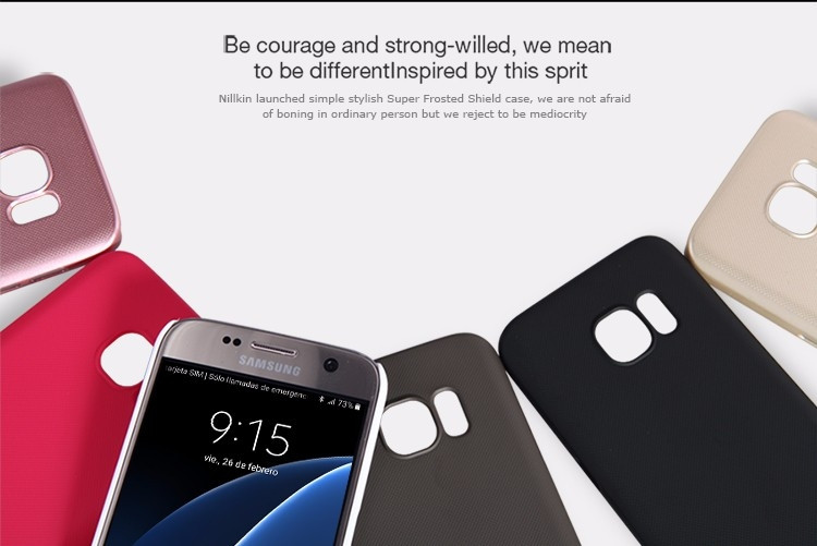 Nillkin super frosted shield case for Samsung Galaxy S7, Jungfrau, Lucky, G9300