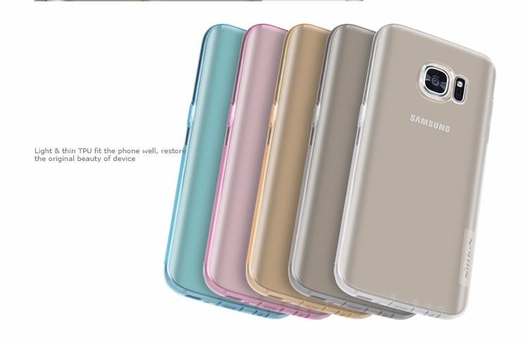 Nillkin Nature TPU case for Samsung Galaxy S7, Jungfrau, Lucky, G9300