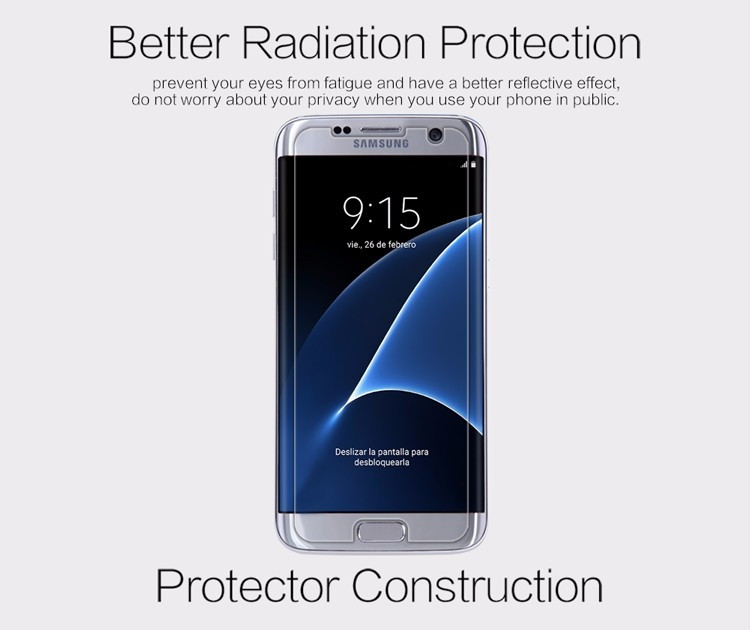 "Nillkin matte screen protector film for Samsung Galaxy S7 Edge, G9350, G935A, G935F (5.5"")"