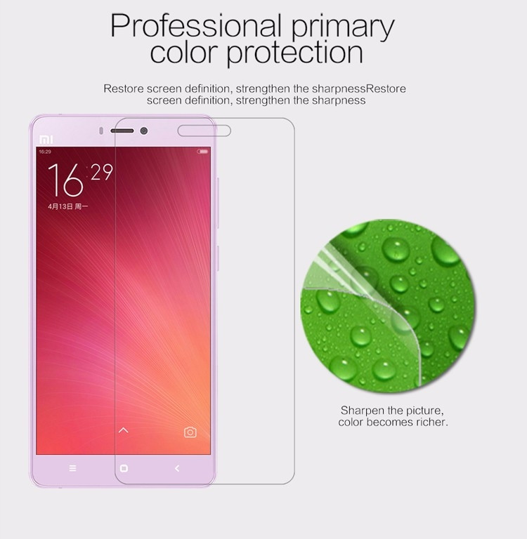 "Nillkin anti-fingerprint protective film for Xiaomi M4S, Mi4S, Mi 4S, M 4S (5.0"")"