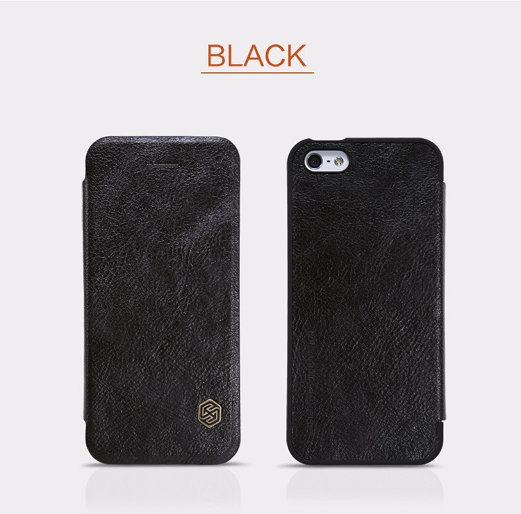 "Nillkin Qin Series case for Apple iPhone 5S, iPhone SE, iPhone 5SE, iPhone 5e (4.0"")"