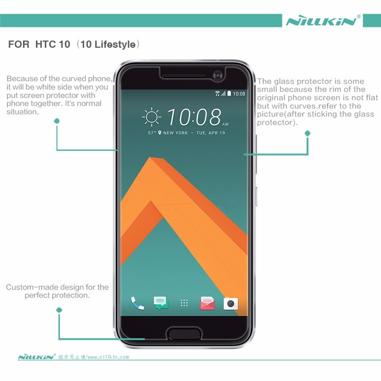 "Nillkin matte screen protector film for HTC M10, HTC 10 Lifestyle, htc 10 (5.2"")"