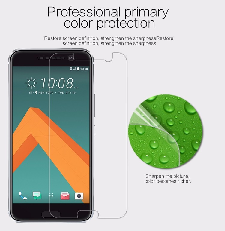 "Nillkin anti-fingerprint protective film for HTC M10, HTC 10 Lifestyle, Htc 10 (5.2"")"