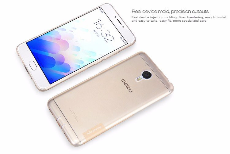 "Nillkin Silicone nature TPU case for Meizu M3 Note (5.5"")"