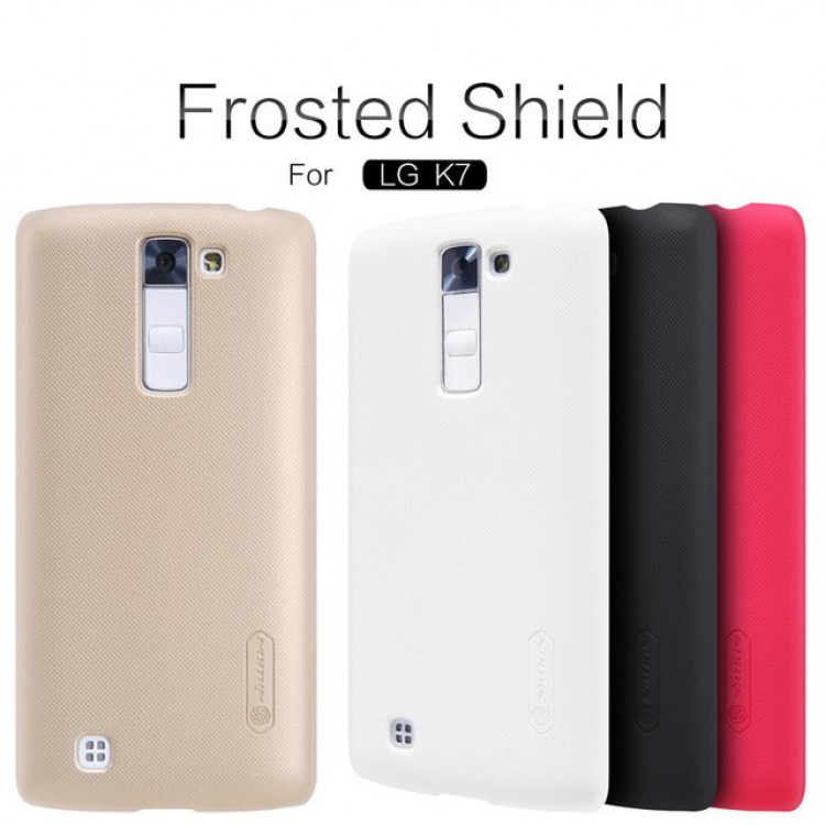 Nillkin super frosted shield case for LG K7 (International Version) 5.0""