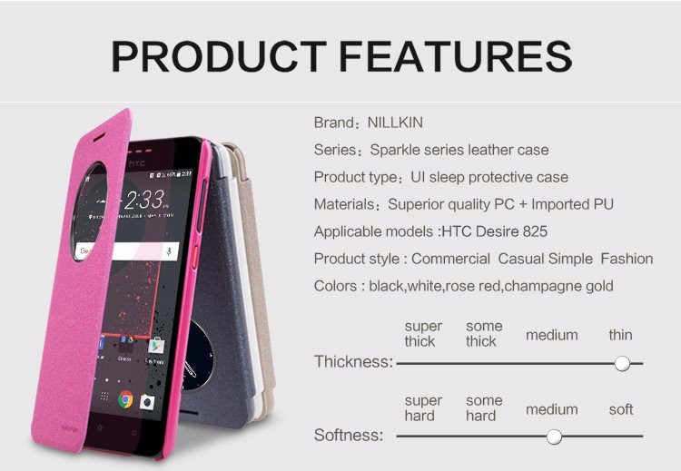 "Nillkin Sparkle case for HTC Desire 825 (5.5"")"