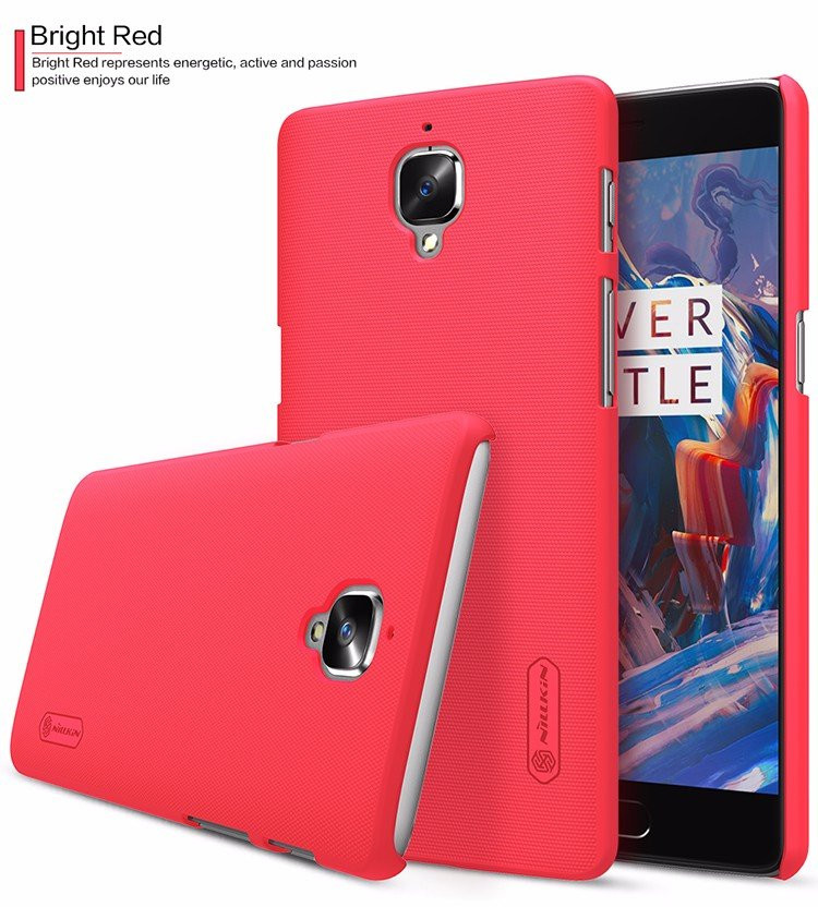 "Nillkin super frosted shield case for OnePlus 3, OnePlus3, A3000, OnePlus Three (5.5"")"