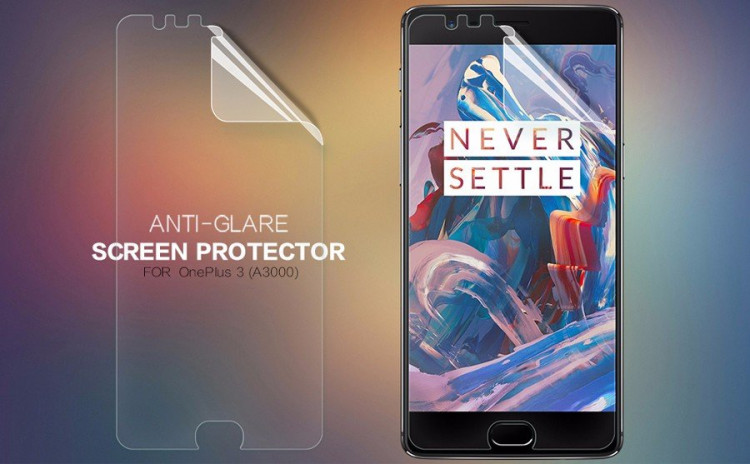 "Nillkin screen protector film for OnePlus 3, OnePlus3, A3000, OnePlus Three (5.5"")"