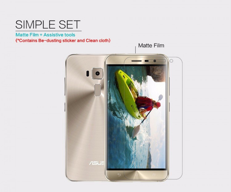 "Nillkin screen protector film for Asus Zenfone 3 (5.2""), ZE520KL"