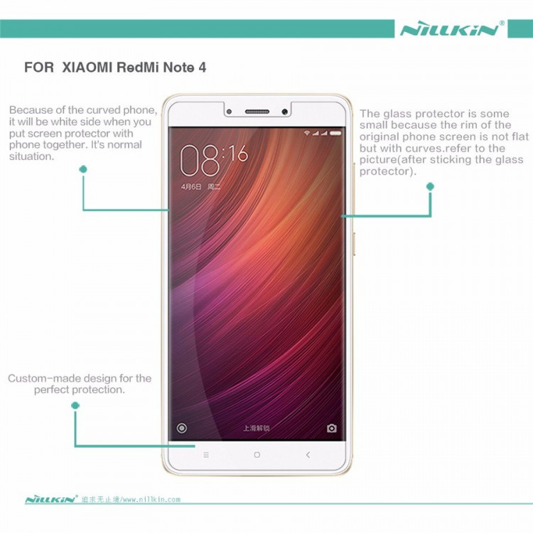 "Nillkin screen protector film for Xiaomi Redmi Note 4 (5.5"")"