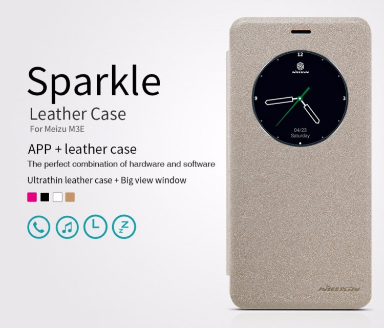 "Nillkin Sparkle series case for Meizu m3e (5.5"")"