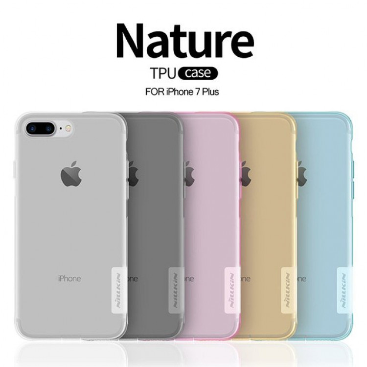 """Nillkin silicone nature TPU case for Apple iPhone 7 Plus (5.5"""")"""