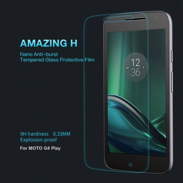 "Nillkin glass screen protector for MOTO G4 Play (5.0"") (index H)"