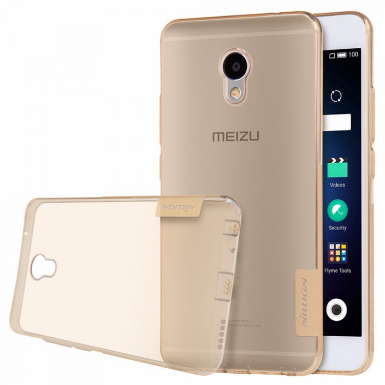 Nillkin silicone nature TPU case for Meizu m3e