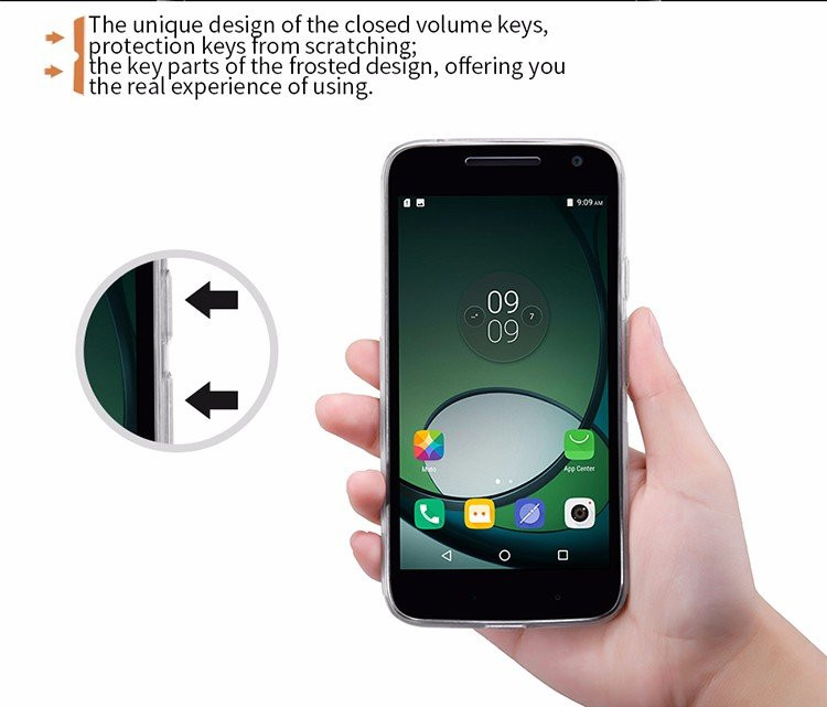 Nillkin silicone nature TPU case for motorola g4 play