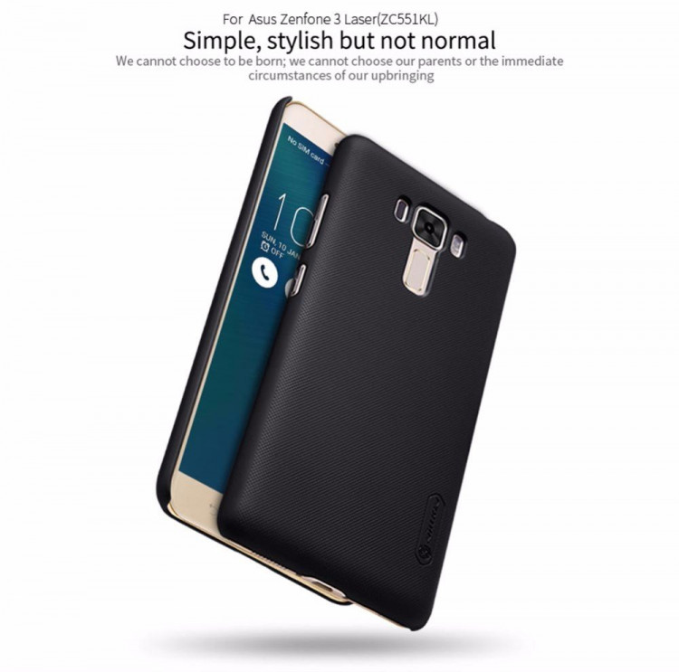 "Nillkin super frosted shield case for Asus Zenfone 3 Laser, ZC551KL (5.5"")"