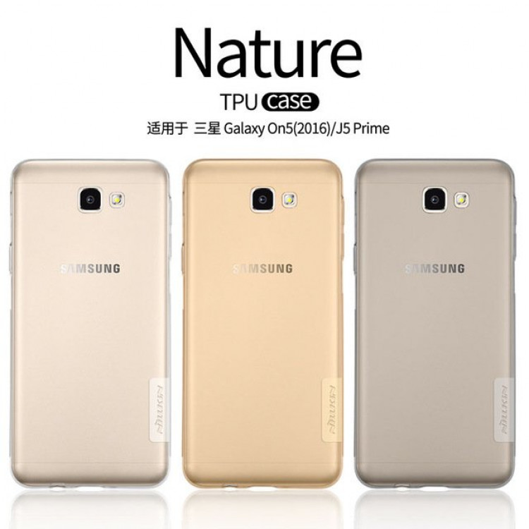 "Nillkin Nature TPU Silicone Case for Samsung Galaxy J5 Prime (5.5""), Samsung Galaxy on5 (2016)"