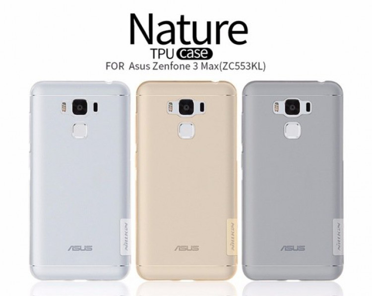 separation shoes 86daa bfe2e Nillkin Nature TPU Silicone Case for Asus ZenFone 3 Max, ZC553KL (5.5)