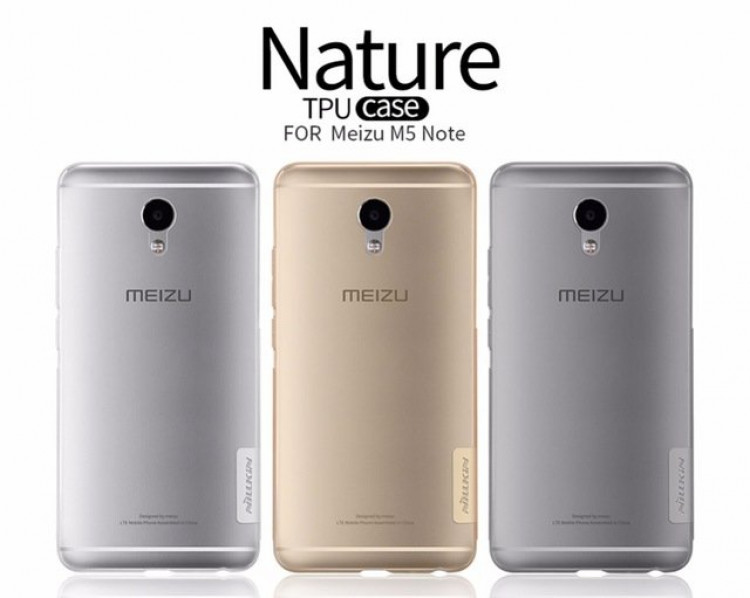 "Nillkin silicone nature TPU case for Meizu Meilan Note 5 (5.5"")"