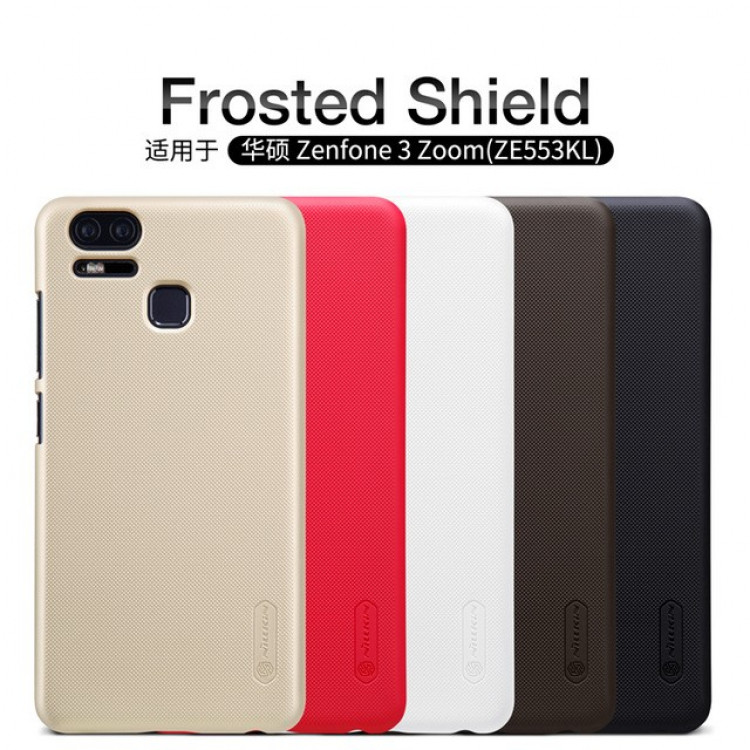 size 40 a9fca 87aad Nillkin Super Frosted Shield Case for ASUS Zenfone 3 Zoom (ZE553KL) (5.5)