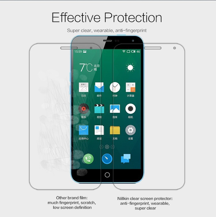 Nillkin screen protector film for Meizu Note, M1 NOTE
