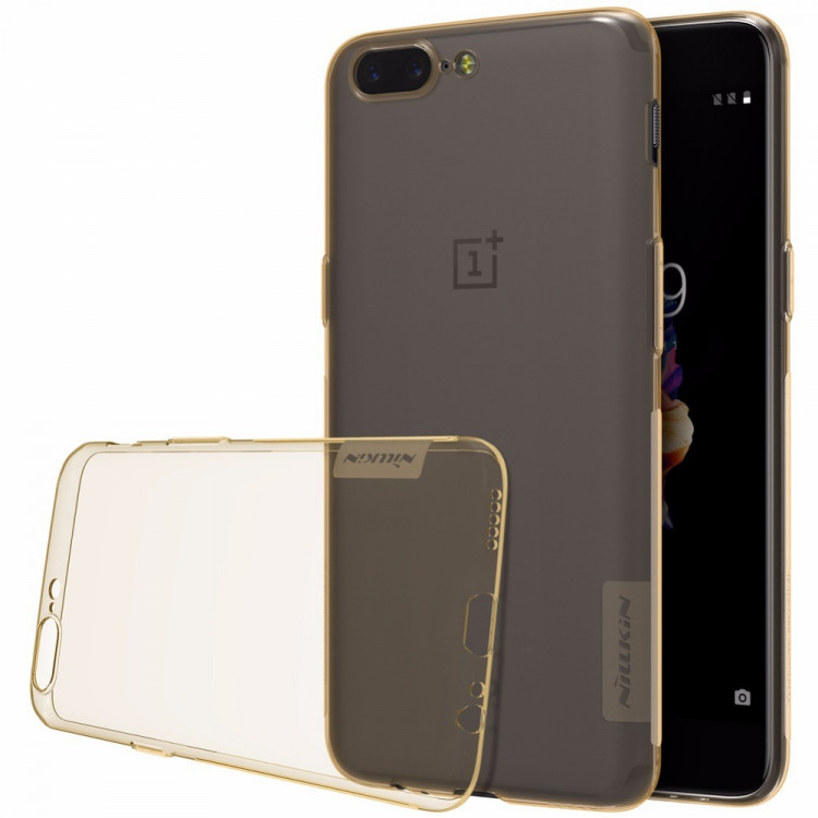Nillkin silicone nature TPU case for Oneplus 5, One Plus 5, Oneplus5, 1+5, A5000 (5.5)
