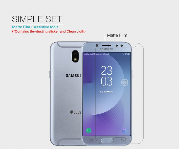 Nillkin screen protector film for Samsung Galaxy J7 Pro, J730F