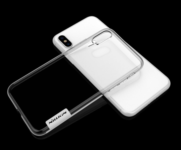 Nillkin silicone nature TPU case for Apple iPhone X, iPhone 10 (5.8)