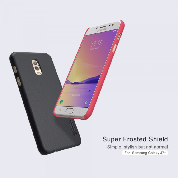 Nillkin super frosted shield case for Samsung Galaxy J7 plus (5.5)