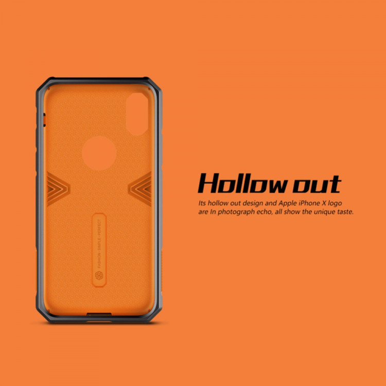 Nillkin armor-border Defender case for Apple iPhone X (5.8)