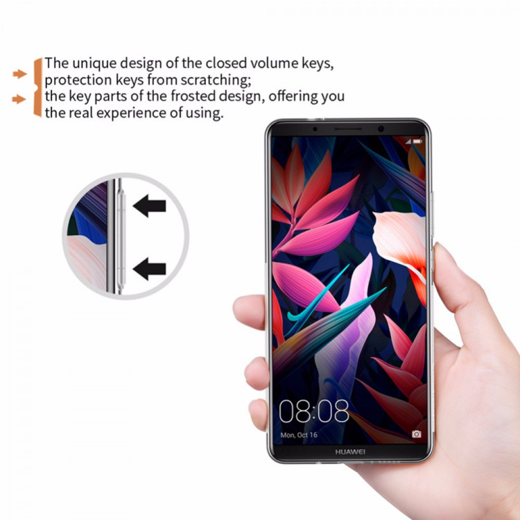 Nillkin silicone nature TPU case for Huawei mate 10 Pro, Huawei mate 10 (5.9 and 6.0)